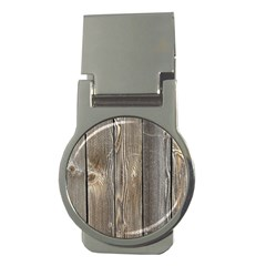 Wood Fence Money Clips (round)