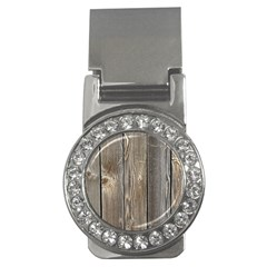 Wood Fence Money Clips (cz)