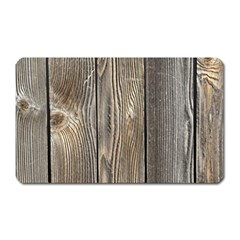 Wood Fence Magnet (rectangular)
