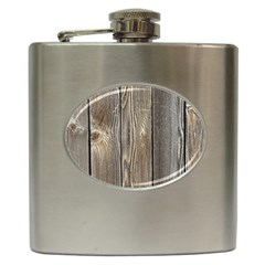 Wood Fence Hip Flask (6 Oz)