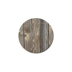 Wood Fence Golf Ball Marker