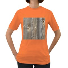 Wood Fence Women s Dark T Shirt