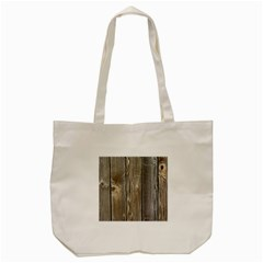 Wood Fence Tote Bag (cream)