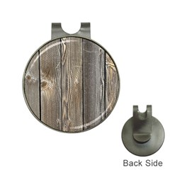 Wood Fence Hat Clips With Golf Markers