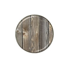 Wood Fence Hat Clip Ball Marker