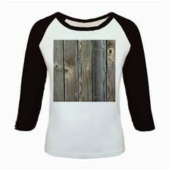 Wood Fence Kids Baseball Jerseys