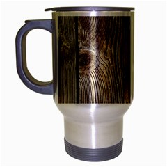 Wood Fence Travel Mug (silver Gray)