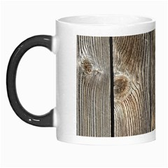 Wood Fence Morph Mugs