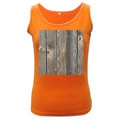 Wood Fence Women s Dark Tank Tops