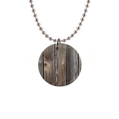 Wood Fence Button Necklaces
