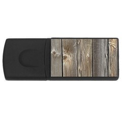 Wood Fence Usb Flash Drive Rectangular (4 Gb)