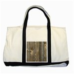 WOOD FENCE Two Tone Tote Bag  Front