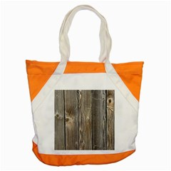 Wood Fence Accent Tote Bag