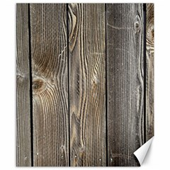 Wood Fence Canvas 8  X 10