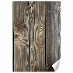 Wood Fence Canvas 12  X 18