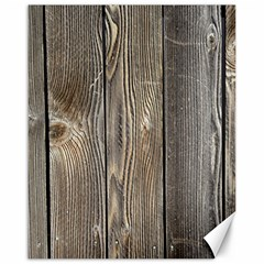 Wood Fence Canvas 16  X 20
