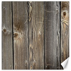 Wood Fence Canvas 20  X 20