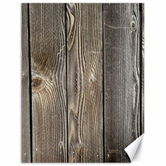 Wood Fence Canvas 18  X 24