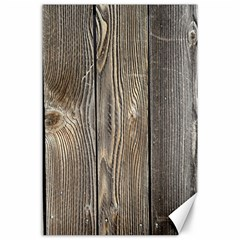 Wood Fence Canvas 24  X 36
