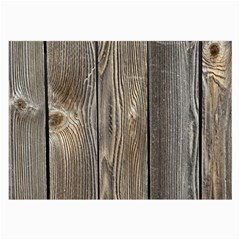 Wood Fence Large Glasses Cloth