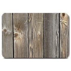 Wood Fence Large Doormat