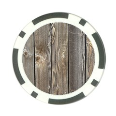 Wood Fence Poker Chip Card Guards