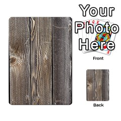 Wood Fence Multi Purpose Cards (rectangle)