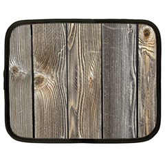 Wood Fence Netbook Case (large)
