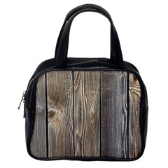 Wood Fence Classic Handbags (one Side)