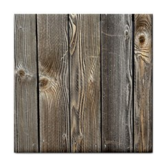 Wood Fence Face Towel