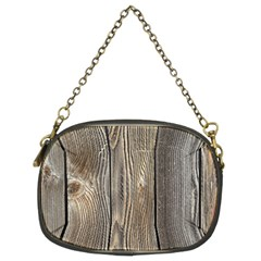 Wood Fence Chain Purses (two Sides)