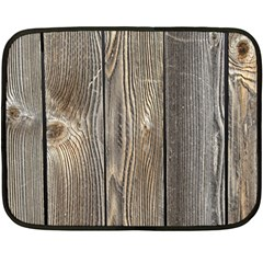 Wood Fence Fleece Blanket (mini)