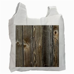 Wood Fence Recycle Bag (one Side)