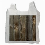 WOOD FENCE Recycle Bag (Two Side)  Back