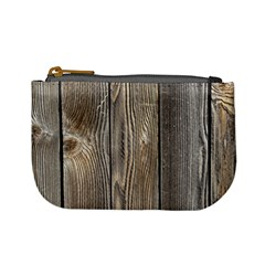Wood Fence Mini Coin Purses