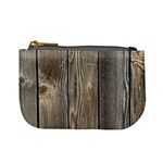 WOOD FENCE Mini Coin Purses Front