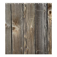 Wood Fence Shower Curtain 66  X 72  (large)