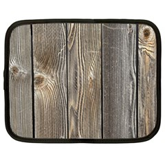 Wood Fence Netbook Case (xl)