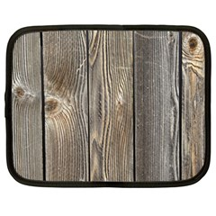Wood Fence Netbook Case (xxl)