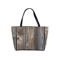 Wood Fence Shoulder Handbags