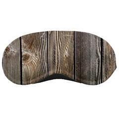 Wood Fence Sleeping Masks