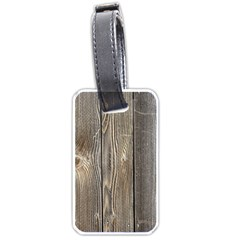 WOOD FENCE Luggage Tags (One Side)