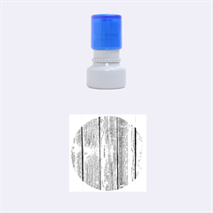 Wood Fence Rubber Round Stamps (small)
