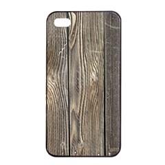 WOOD FENCE Apple iPhone 4/4s Seamless Case (Black)