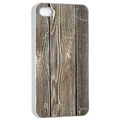 Wood Fence Apple Iphone 4/4s Seamless Case (white)