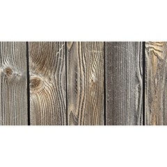WOOD FENCE YOU ARE INVITED 3D Greeting Card (8x4)