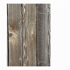 WOOD FENCE Small Garden Flag (Two Sides)