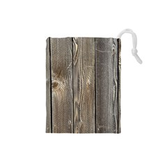 WOOD FENCE Drawstring Pouches (Small)