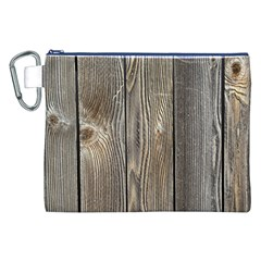Wood Fence Canvas Cosmetic Bag (xxl)