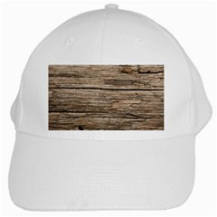 Weathered Wood White Cap